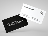 Ospino Engineering - Business Cards