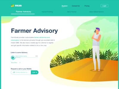 Infolabs | Website Design | Farmer advisory