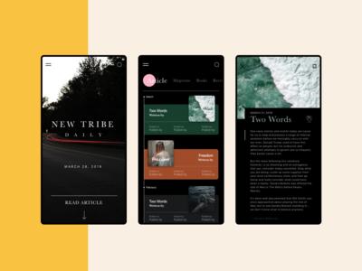 Readers App | Black
