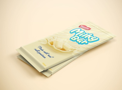 Milky Bar Packaging Redesign