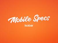 Mobile Specs Doc WIP
