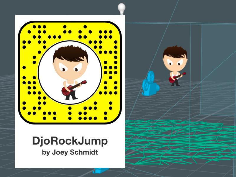Lens Studio new editor djo djoswork 3d 2d snapchat studio lens