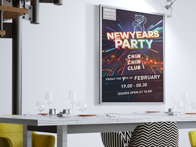 Newyears Party Poster