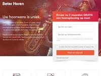 Basic onepage webdesign
