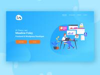 Portfolio Websites - Landing page