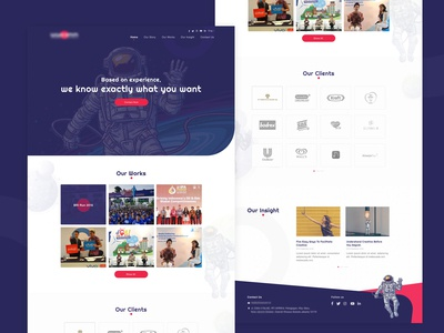 Project Relationship Landing Page