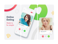 App Store screen shot for dating app