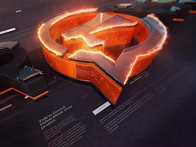 Si™ – 3D Broadcast Design Style Frame 3d animation animations motiongraphics motion design logo styleframe broadcast design aftereffects after effects cinema 4d cinema4d