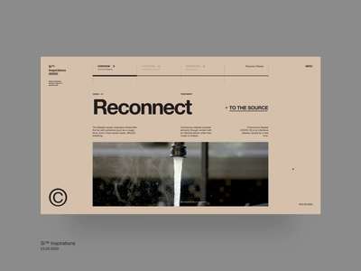 Si™ Reconnect – Image Hover Animation interface interaction swiss design swiss style web grid layout motion ux ui web design website typogaphy grid