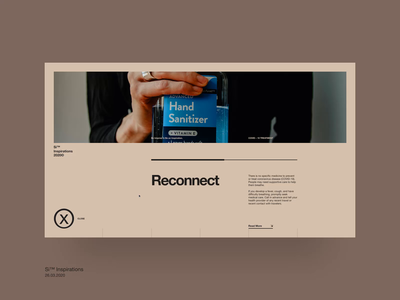 Si™ Reconnect – Details Page swiss style swiss design motion website web ux ui typogaphy interaction interface grid
