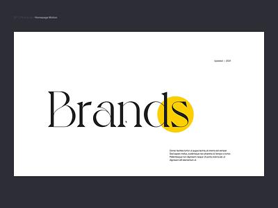 Si™ Design | P&C Homepage Motion clean website typogaphy minimalism interface webdesign ux ui uidesign minimal