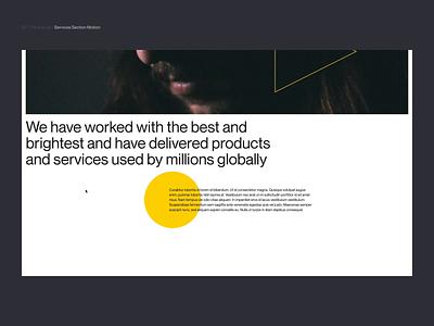 Si™ Design | P&C Services WebGL Images interface uiux website animation typogaphy webdesign ux ui minimalism minimal