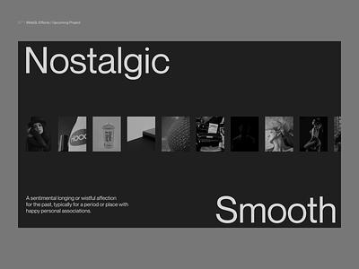 Si™ Design | WebGL Effects for Upcoming Project webgl three.js threejs clean typography interface minimalism webdesign ux uiux ui minimal