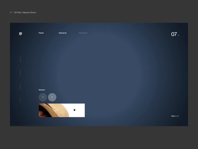 Si™ Design | Live ACTION of Daily Post 018 – 2018 animation three.js clean typography dailydesign minimalism uiux ux interface ui uidesign minimal