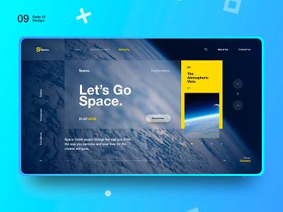 Si™ Daily Ui Design 009 travel tour explore discover space nasa graphics design uidesigns everydayuidesign uiinspirations ultimateui uiuxdesign