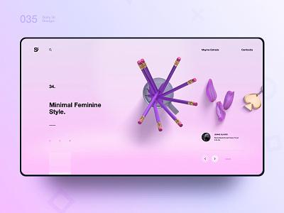 Si™ Daily Ui Design 035 webdesign uxdesign ux uiux uidesign ui minimalism minimal interface graphicsdesign designinspiration dailydesign