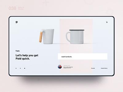 Si™ Daily Ui Design 038 webdesign uxdesign ux uiux uidesign ui minimalism minimal interface graphicsdesign designinspiration dailydesign