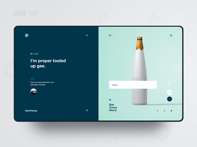Si™ Daily Ui Design 039