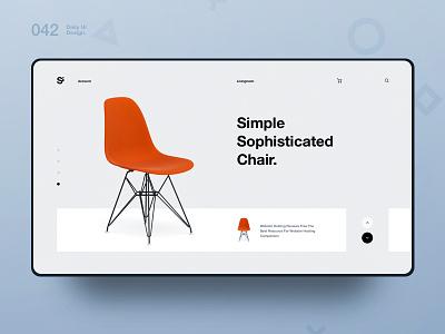 Si™ Daily Ui Design 042 clean everydayuidesign design webdesign uxdesign ux uiux uidesign ui minimalism minimal interface graphicsdesign designinspiration dailydesign