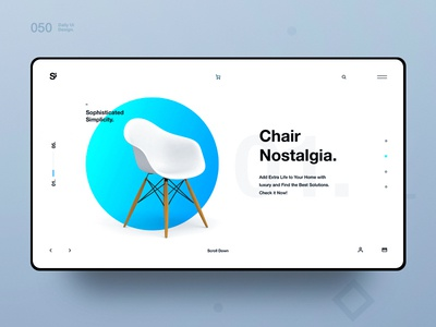 Si™ Daily Ui Design 050 shapes typography clean webdesign uxdesign ux uiux uidesign ui minimalism minimal interface graphicsdesign designinspiration dailydesign