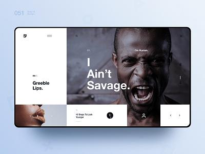 Si™ Daily Ui Design 051 photography typography clean webdesign uxdesign ux uiux uidesign ui minimalism minimal interface graphicsdesign designinspiration dailydesign