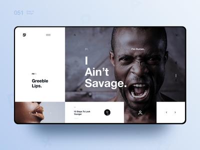 Si™ Daily Ui Design 051
