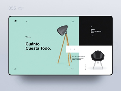 Si™ Daily Ui Design 055