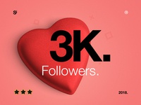 Si™ 3000 Followers 🎉🎉🎉