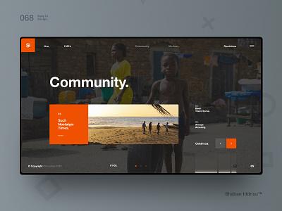 Si™ Daily Ui Design 068 typography clean webdesign uxdesign ux uiux uidesign ui minimalism minimal interface graphicsdesign designinspiration dailydesign