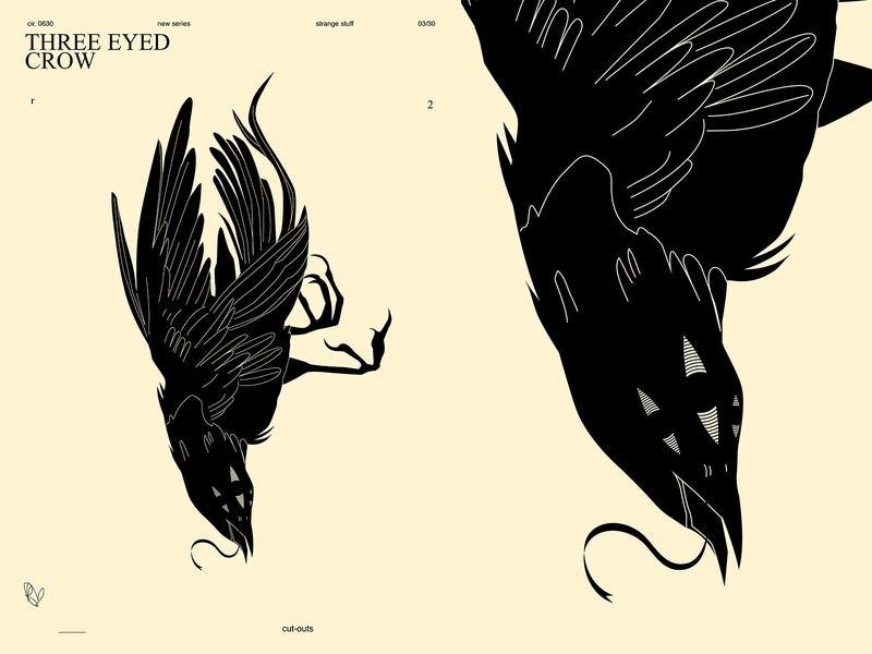 Three eyed crow