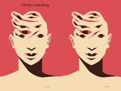 Mummy watching eye illustration eyeball eye halloween illustration halloween design halloween mummy poster art lines poster laconic illustration composition abstract minimal