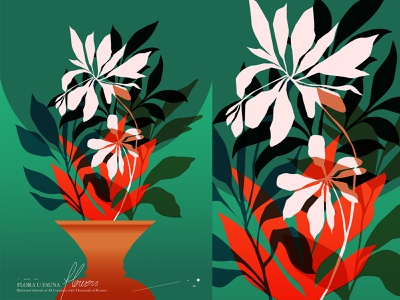 Flowers editorial illustration editorial art flower illustration floral design floral pattern floral flowers illustration flowers poster art lines poster laconic illustration composition abstract minimal