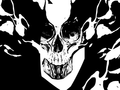 Rorschach test black and white rorschach grunge texture skull illustration smokes skull poster art lines poster laconic illustration composition abstract minimal