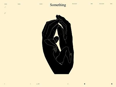 Something squeeze hands illustration hands figure figure illustration form poster art lines poster laconic illustration composition abstract minimal