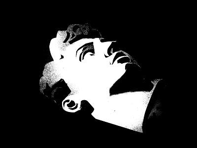 1177 grunge texture grunge splash ink black and white sculpture illustration sculpture portrait illustration portrait david design lines poster laconic illustration composition abstract minimal