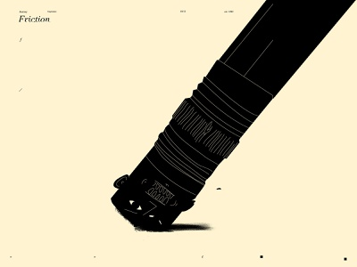 Friction dual meaning editorial illustration editorial conceptual illustration emotional illustration emotional eraser illustration pencil illustration eraser pencil design lines poster laconic illustration composition abstract minimal