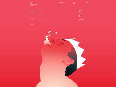King crown man portrait everyday drowning king illustration king portrait illustration portrait plakat layout design lines poster laconic illustration composition abstract minimal
