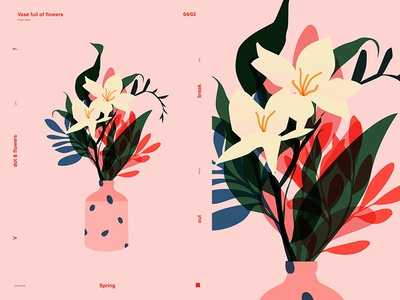 Vase Full Of Flowers
