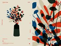 Vase and Flower