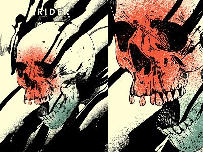Rider grunge textures grunge inking ink smokes skull grunge texture splash poster art lines poster laconic illustration composition abstract minimal