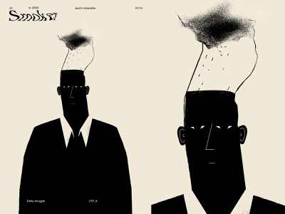 Smoker grunge texture grunge textures sad smoker smoke man fragment poster art lines poster laconic illustration composition abstract minimal