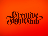 Creative Fight Club T-shirt Design