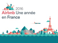 Airbnb : a year in France