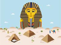 Pharaoh & pyramids