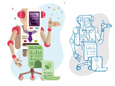 Financial robot press leparisieneco robot
