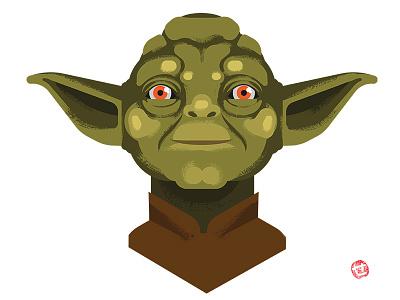 Yoda scifi fanart starwars yoda