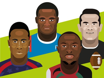 Rugby Sevens players virimi vakatawa collins injera carlin isles sonny bill williams rugby sevens rugby portrait
