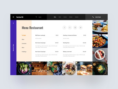 Menu Template template download freebies freebie free