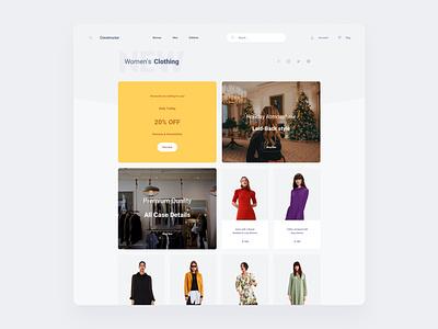 Commerce Template commerce web ui sketch ux download ui kit