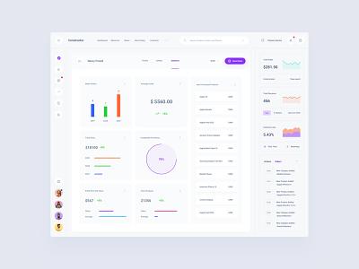 Commerce Dashboard figma commerce web ui dashboard sketch ux download ui kit